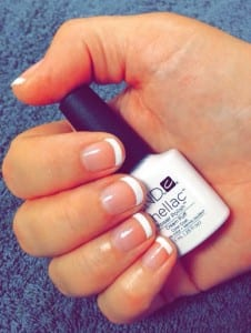 french gel polish-shellac