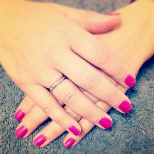 pink nail services