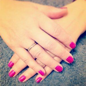 pink nail services
